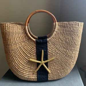 Straw Beach Bag Purse - Perfect for Vacation!